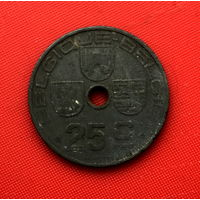 53-29 Бельгия, 25 сантимов 1942 г. Французский тип