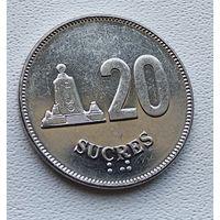 Эквадор 20 сукре, 1991 2-15-28