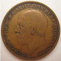 Великобритания 1 пенни 1927 г. (d)