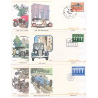 ЕВРОПА.EUROPA 1984. Автомобили. 66 конвертов со спецгашением КПД.