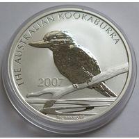 """Австралия 2007 серебро (1 oz) """"Кукабарра"""""""