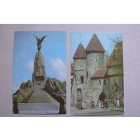 Эстонская ССР; 1973, 2 открытки.