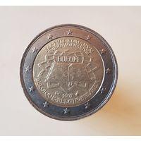 2 евро, Бельгия 2007 50 лет Римскому договору