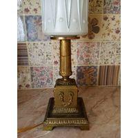 Настольная лампа бронза