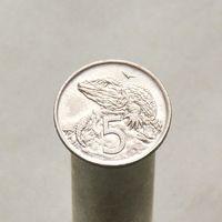 Новая Зеландия 5 центов 1970
