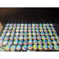 Фишки покемон,распродажа коллекции, 110шт+бонус(с рубля) ТРИ ДНЯ