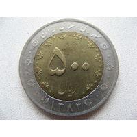 Иран 500 риалов 2005 г.