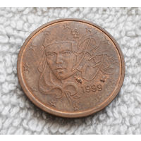 2 евроцента 1999 Франция #02