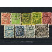 Латвия Респ 1927-9 Герб Wz 5 Латы Стандарт