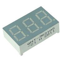 Индикатор 3 цифры КРАСНЫЙ ((цена за 2 штуки)) Светодиодный. Общий анод. 3631BS-21