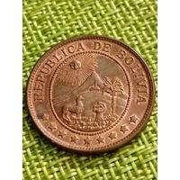 Боливия 50 сентаво 1942 г