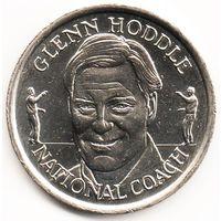 Монетовидный жетон Английской футбольной Премьер-лиги 1998 год Гленн Ходдл