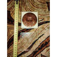 Медаль настольная Московская духовная академия 300 лет 1685-1985 гг