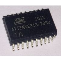 ATtiny2313-20SU, Микроконтроллер 8-Бит, AVR, 20МГц, 2КБ Flash [SO-20] Atmel Attiny 2313 at tiny