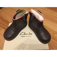 Кожаные деми ботиночки для леди, 12см по стельке (20 размер)