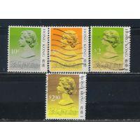 GB Колонии Гонконг 1987-91 EII Стандарт #507I,509I,517III,610