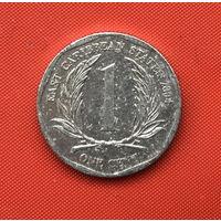 76-13 Восточные Карибы, 1 цент 2004 г.