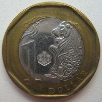 Сингапур 1 доллар 2013 г.