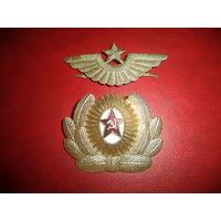 Кокарда и тулья ВВС СССР