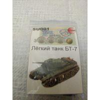 3,62 SU001 Легкий танк БТ-7 Масштаб 1:100