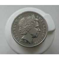 5 центов 2006 Австралия aUNC