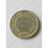 Перу 10 сентимо 2006г.