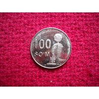 Узбекистан 100 сум 2018 г.