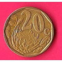 47-14 ЮАР, 20 центов 2012 г.