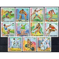 Спорт Экваториальная Гвинея  1976 год серия из 11 марок (М)