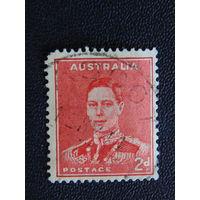 Австралия. Король Георг VI  1937г.