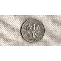 Польша 1 злотый 1992 //(ON)