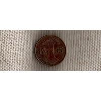 Германия 1 пфенниг 1935 E(Ab)