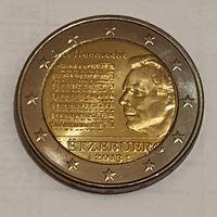 Люксембург 2 евро 2013 года