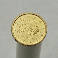 Испания 10 евроцентов 2018 (3-ый тип)