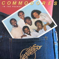 Commodores, In The Pocket, LP 1981