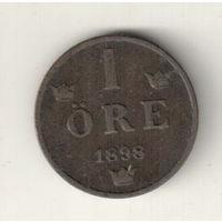 Швеция 1 эре 1898
