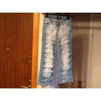 Капри джинсовые молодежные маркировка 28