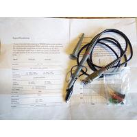 Пробник для осциллографа TP 6100 (100Mhz) полный аналог Tektronix TPP0101 производства Польша. Делитель 1:10, регулировка входной емкости. Подходит под любой осциллограф.