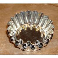 Металлические формочки для выпекания кексов - б/у