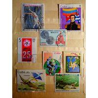 Лот марок Кубы