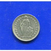 Швейцария 1/2 франка 1971