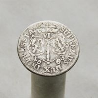6 грошей 1683 Пруссия Фридрих Вильгельм М.Д. Кролевиц