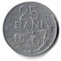 Румыния. 25 бань. 1982 г.