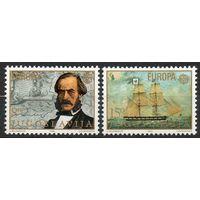 Корабли Первооткрыватели Югославия 1982 год чистая серия из 2-х марок (М)