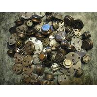 Транзисторы б/у и новые, мощные, разные, оптом или на выбор.