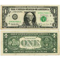 США. 1 доллар (образца 1995 года, D, Огайо, P496)