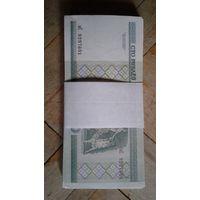 Корешок 100 белоруских рублей образца 2000 года нс
