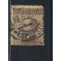 Италия Кор 1908 Виктор Эммануил III Стандарт #91