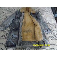 Куртка мужская на овечьем меху