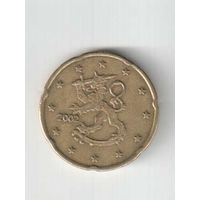 20 евроцента 2002 года Финляндии